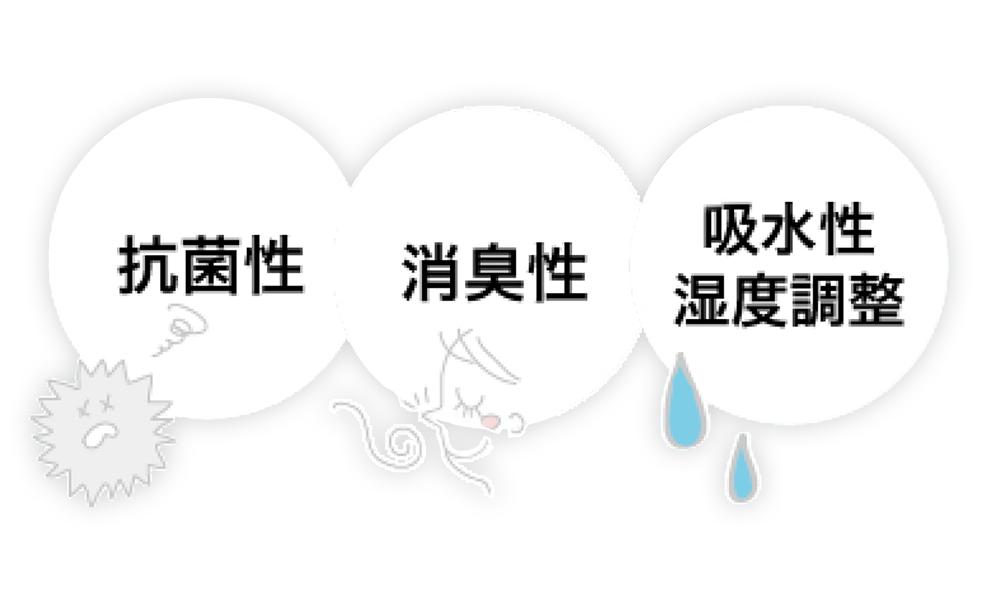 消臭・抗菌・防臭効果